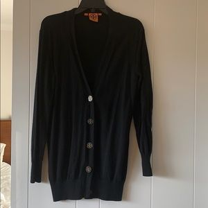 Tory Burch black medium cardigan